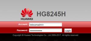 Credential_HG8245H